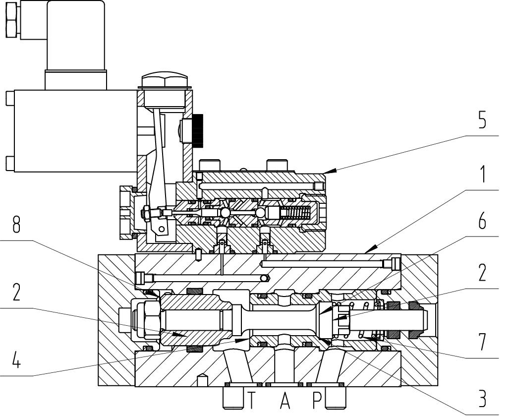 3/2 way valve B2-1 DN10 – 16 PN320