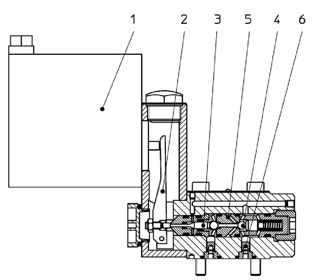3/2 Wege-Sitzventil C3 DN3 PN480 ATEX