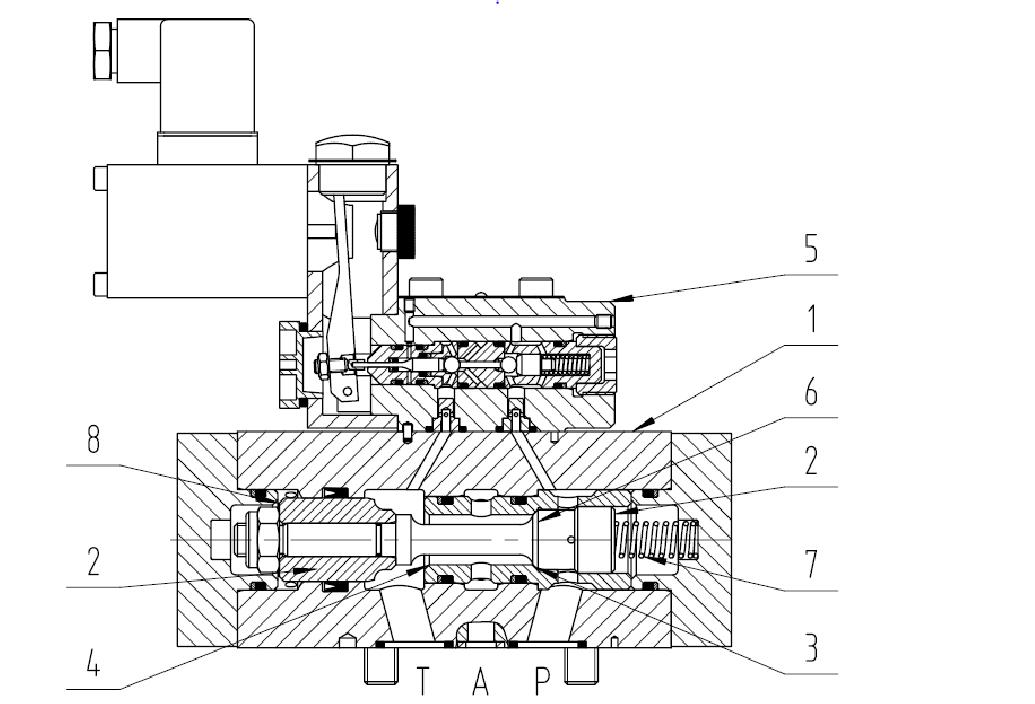 3/2 way valve B1 DN3 – 25 PN320 – 500