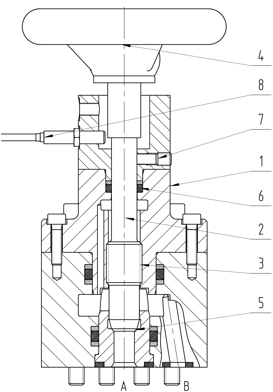 Drosselabsperrventil C-DR DN10 – 32 PN320 – 500