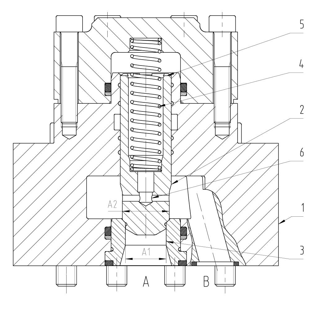 Rückschlagventil C-RV DN16 – 100 PN320 – 500